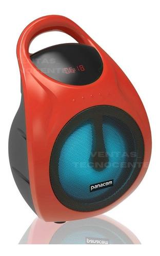 Parlante Panacom Sp-3050 25w Bluetooth Microfono Luces