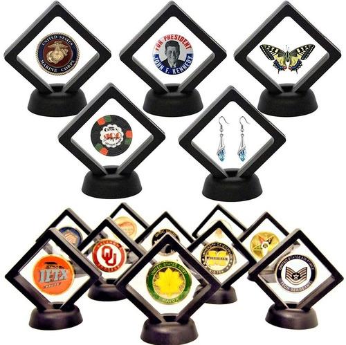Lote 10 Piezas Mostrador Exhibidor Monedas Joyeria Bisuteria
