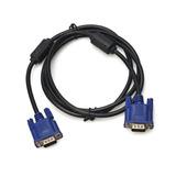 Cable Vga De 1.5 Metros Con Doble Filtro Para Monitor Nuevo