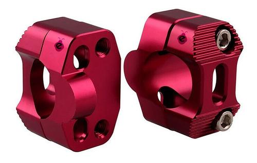 Anclaje Elevador Clamp Para Manubrio Adaptador Fatbar 28mm