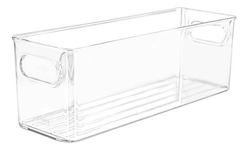Recipiente Organizador Heladera Multiuso Acrilico 10x30cm