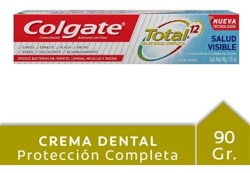 Colgate Total 12 Salud Visible 90 Gr Tubo
