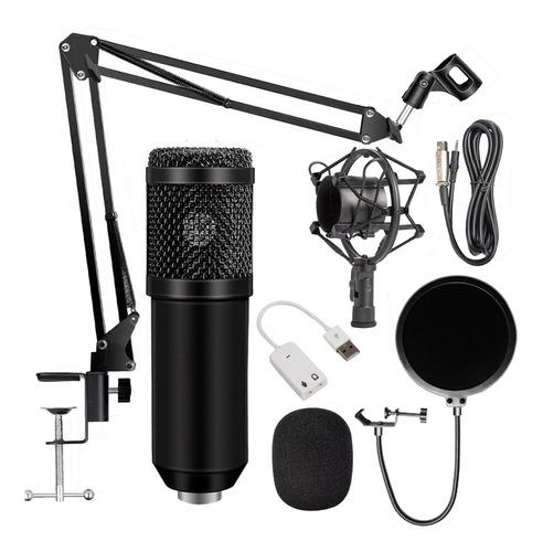 Microfono Condensador Condenser Profesional Estudio Bm800 !