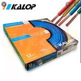 Cable Unipolar C5 Kalop 1.5mm  Colores Cuotas X 2 Un