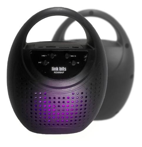 Parlante Bluetooth Multimedia Portátil Led 5w Recargable