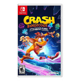 Crash Bandicoot 4: Its About Time Standard Edition Activision Nintendo Switch Físico