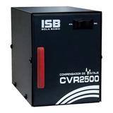 Regulador De Voltaje Sola Basic Cvr 2500 2500va Entrada De 127v Y Salida De 104v/127v Negro