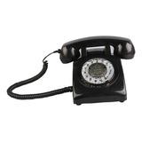 Teléfono Móvil Retro Negro