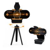 Cámara Web Con Micrófono Para Videoconferencia Usb 1080p Hd