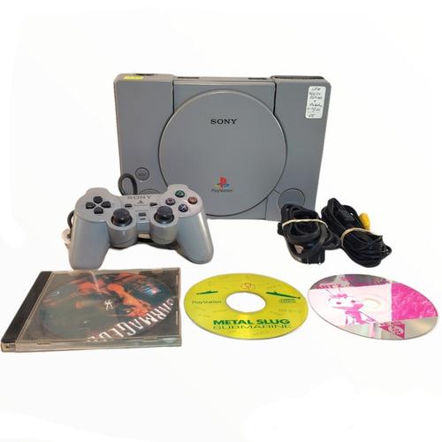 Playstation 1 Con Joystick + 3 Juegos