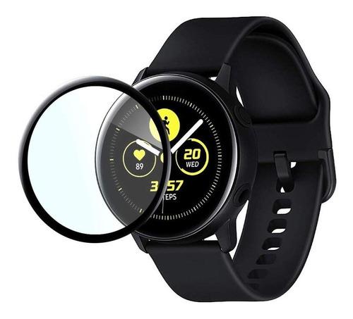 Film Templado Full Glue Para Samsung Galaxy Watch Active 2