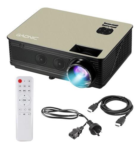 Proyector Portatil Gadnic Led 5000 Lumens Hdmi Usb 1080p
