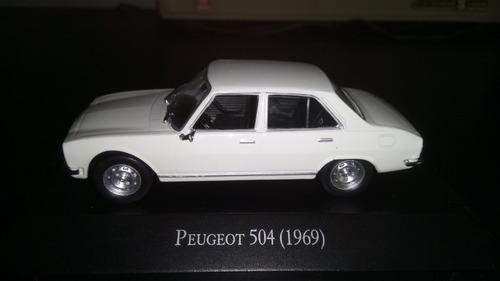 Autos Inolvidables Salvat Peugeot 504 1:43