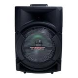Alto-falante Trc Sound Trc 5522 Portátil Com Bluetooth Preto 110v/240v