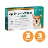 Antiparasitario Simparica 10 A 20kg (40mg) - 3 Comprimido