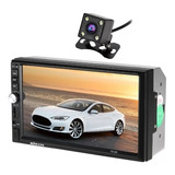 Radio Auto Pantalla Touch Bluetooth + Camara Retroceso Led