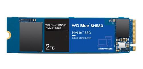 Disco Ssd M.2 Nvme 2tb Western Digital Blue Wds200t2b0c