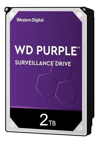 Disco Rigido Western Digital 2tb Purple 2tb Wd2purx