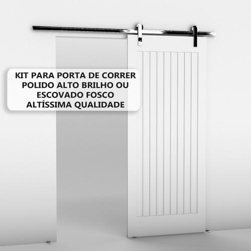 Kit Porta De Correr 2 Mt Até 50kg - Promoção - Desconto 25%