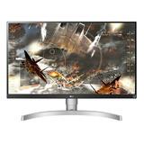 Monitor Gamer LG 27ul650 Led 27  Branco 100v/240v