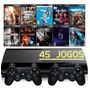 Ps3 Super Slim + 2 Controles + Fifa 19 + Gta5 + Call Of Duty Original