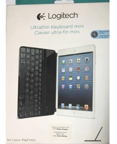 Teclado Mini Ultra Delgado Bluetooth Logitech Para iPad Mini