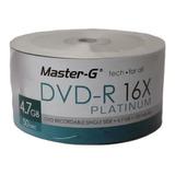 Dvd-r Master G 16x C/logo Platinum Pack 50 Und