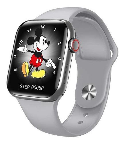 Smartwatch Hw22 Pro- Serie 6 2021 Compatible Ios Y Android