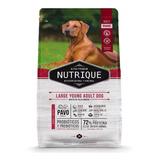Alimento Nutrique Large Young Adult Dog Para Perro Adulto De Raza Grande En Bolsa De 15kg