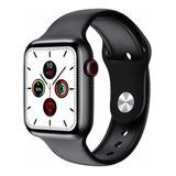 Smartwatch Microwear W26 1.75  Caja De  Aleación De Zinc  Negra