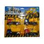 Brinquedo Conjunto Com 4 Modelos Mini Caminhões Diferentes Original
