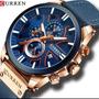Relógio Masculino Curren Cronografo Funcional Barato S.20 Original
