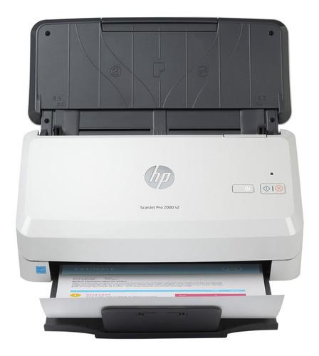 Escaner Hp Pro 2000 S2, Para Trabajo Pesado, 35 Ppm