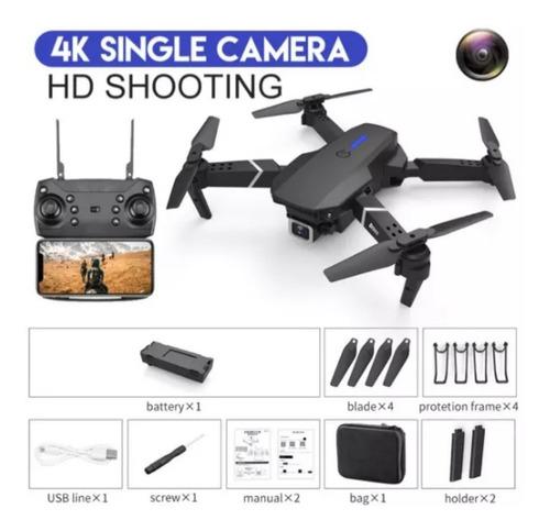 Dron Lsrc  E525 Wifi Fpv Y Gran Angular De Alta Definicion