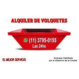 Alquiler De Volquetes Y Volquetines 24hs