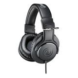 Audífonos Audio-technica M-series Ath-m20x Negro
