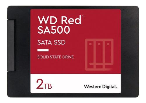 Disco Estado Solido Western Digital 2tb Red Sa500 Fullstock