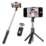 Bastón Monopod Bluetooth Soporte Tripode Selfie Celular 360°