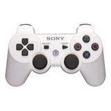 Control Joystick Inalámbrico Sony Playstation Dualshock 3 Blanco