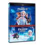 Dvd Duplo - Frozen - Coleção 2 Filmes Original