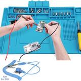 Manta De Silicona Para Soldar Y Reparar Comp. Electronicos