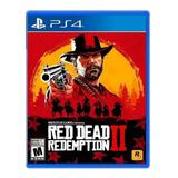 Red Dead Redemption 2 Standard Edition Rockstar Games Ps4  Físico