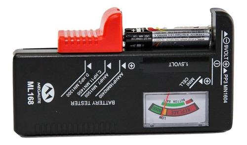 Probador Tester Pilas Aa Aaa D C 9v Todo Botones 1° Mgl Htec