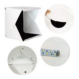 Caja De Luz Estudio Fotográfico Plegable 40 Cms Led/17880-40