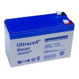 Batería Recargable 12v 7.2ah, Ucg7.2-12, Ultracell Diacon