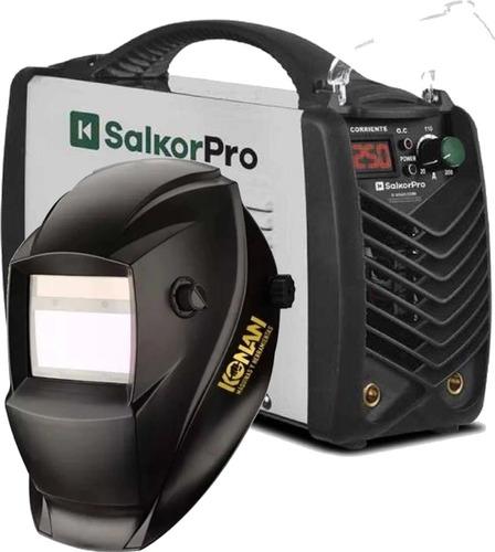 Soldadora Inverter Salkor 250a Ie8250 + Mascara Fotosensible