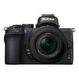 Nikon Z 50 16-50mm + 50-250mm Vr Kit Sin Espejo Color  Negro