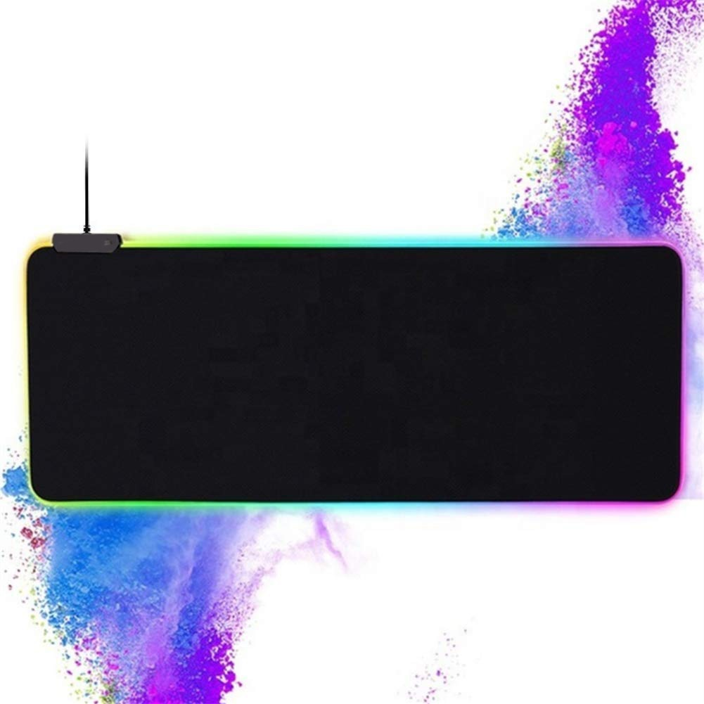 GMS-X5 GAMING MOUSE PAD CON LUCES RGB