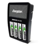 Cargador De Pilas Energizer Maxi + 2 Pilas Aa Recargables