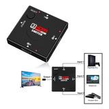 Switch Hdmi 3x1 Full Hd 1080p Hub Pasivo